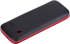 Мобильный телефон Nomi i244 Black-Red (Черно-красный), фото 2