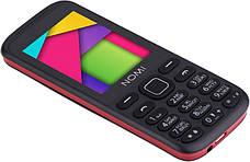 Мобильный телефон Nomi i244 Black-Red (Черно-красный), фото 3