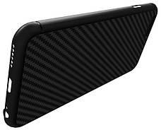 Чохол-накладка Nillkin для iPhone 6/6S Synthetic Fiber ser. Чорний, фото 2