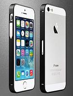 Черный бампер iPhone 5 5S из металла , фото 1