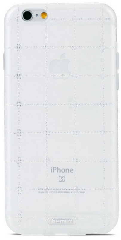 Чехол накладка Remax для iPhone 6 / 6S Ice Clear ser. белый