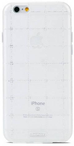 Чехол накладка Remax для iPhone 6 / 6S Ice Clear ser. белый, фото 2