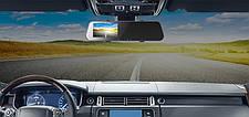 Видеорегистратор Rock ROTO753 A2 Dash Cam With Rear View Mirror Черный, фото 3