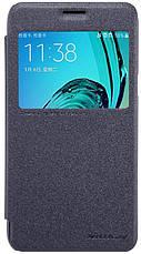 Чохол-книжка Nillkin для Samsung J320F J3(2016) Sparkle ser. Чорний, фото 3