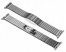 Ремінець Icarer для Apple iWatch 38mm Armor Stainless Watchband ser. Сріблястий, фото 3