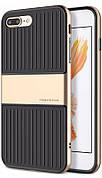 "Чохол-накладка Baseus Wiapiph7p-lx0v для iPhone 7 Plus (5.5"") Travel Ultrathin ser.Чорний/золотистий"