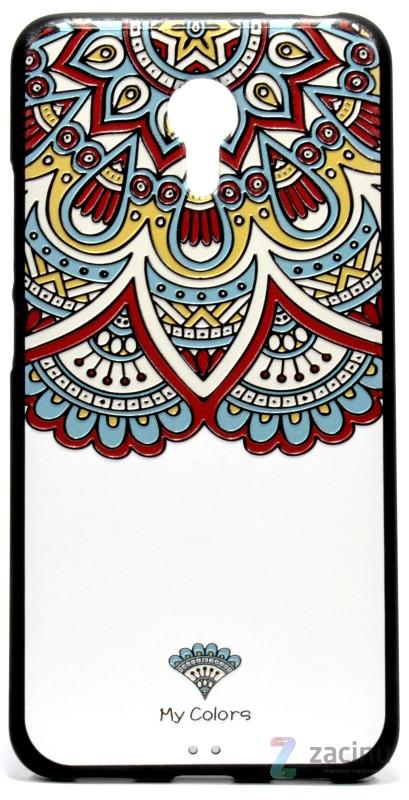 Чохол-накладка для Meizu M3 Note Rebus ser. Colors Білий