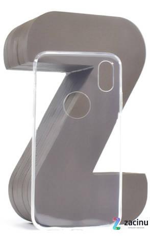 """Чохол-накладка TPU для iPhone X (5.8"""") Ultra-thin ser. Прозорий/безколірний, фото 2"""