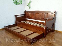 Деревянный ящик на колесиках (длина 180 см) от производителя, фото 2