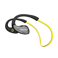 Наушники Bluetooth Awei A880BL Yellow (3-01137_3)