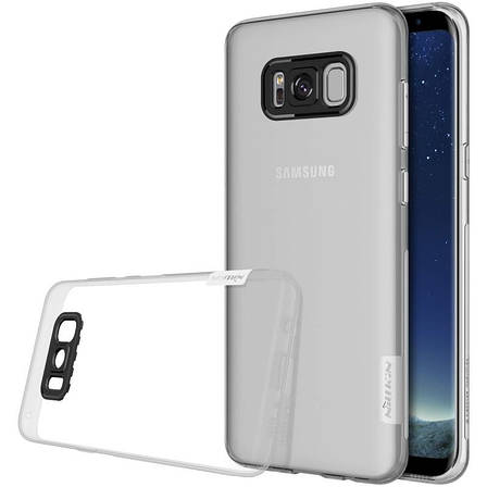Чохол-накладка Nillkin для Samsung G950 S8 Nature ser. Прозорий/безколірний, фото 2