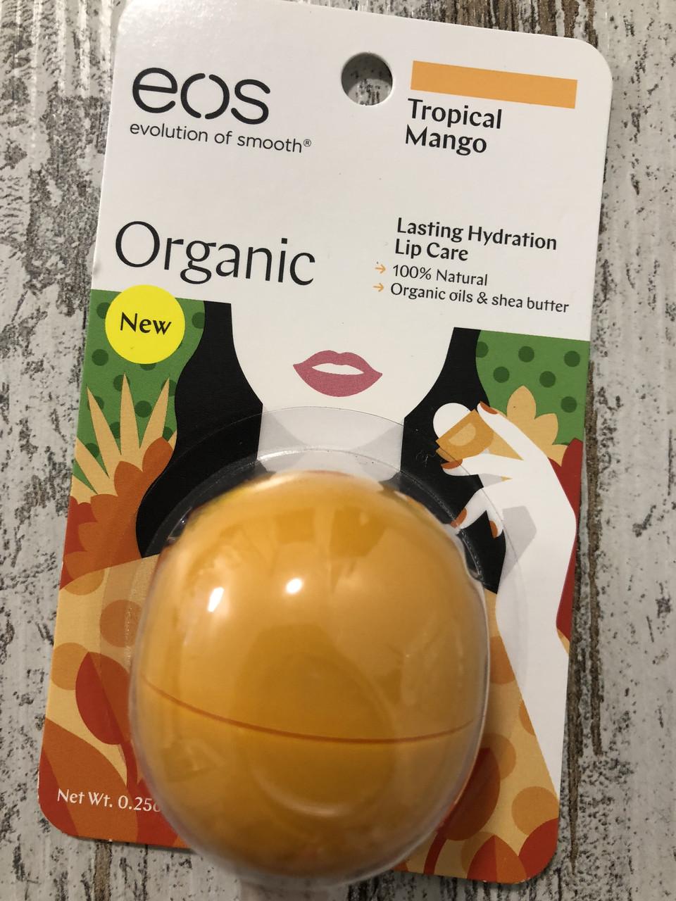 """Бальзам для губ EOS """"Тропический манго"""""""