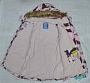 Куртка зимняя для девочки ТЕА розовая (QuadriFoglio, Польша), фото 4