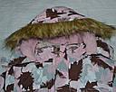 Куртка зимняя для девочки ТЕА розовая (QuadriFoglio, Польша), фото 2