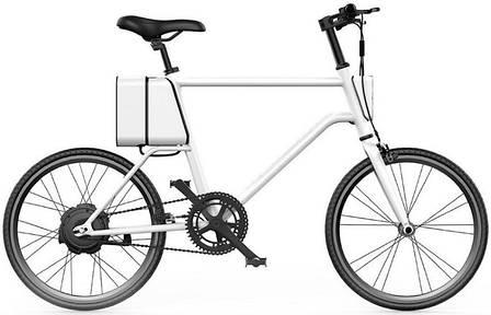 Електровелосипед Xiaomi YunBike C1 Men's Benz White, фото 2