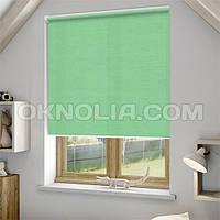 Рулонные шторы Ара 1001 зеленая, 50*170 см