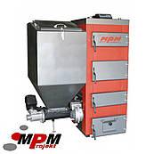 MPM Super 50кВт котел твердотопливный с классической горелкой