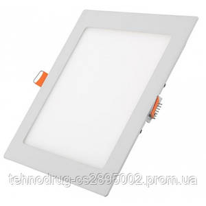 Светодиодный светильник SL 25Вт (квадрат)