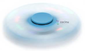Спіннер LED Spinner Sensor Блакитний(993244), фото 2