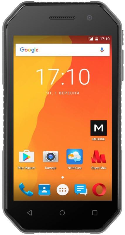 Смартфон Nomi i4070 Iron-M Black (Чорний)