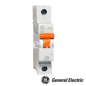 Автоматический выключатель GE 1пол  10A DG 61 C10 6ka