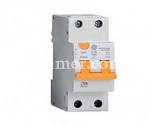 Диф. автом. выключатель GE DDM60C10/030 2P AC