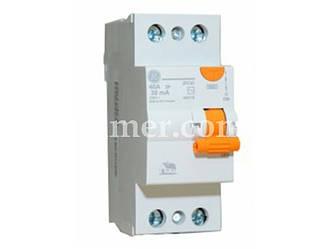Пристрій захисного відключення GE DCG225/030 2P. AC