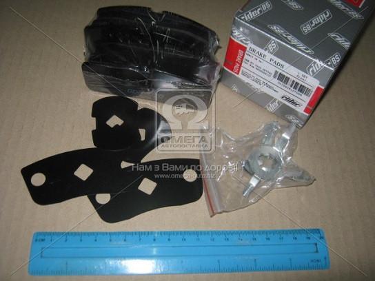 Колодки тормозные передние GEELY (Джили) CK 04- (под ABS) (RIDER)