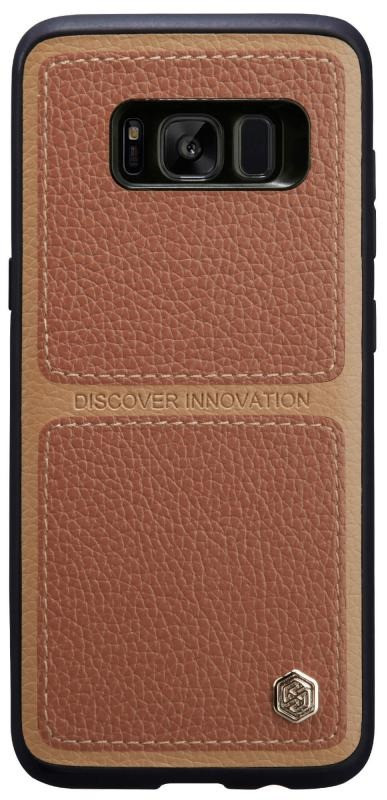 Чохол-накладка Nillkin для Samsung G950 S8 Burt ser. Коричневий