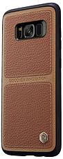 Чохол-накладка Nillkin для Samsung G950 S8 Burt ser. Коричневий, фото 2