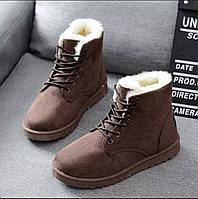 Женские зимние ботинки Karmen\camal