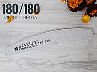 Пилка для нігтів Starlet 180/180, човник, фото 1