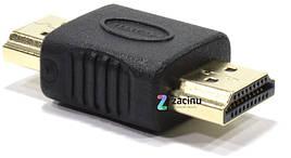 Адаптер HDMI AM - AM Чорний