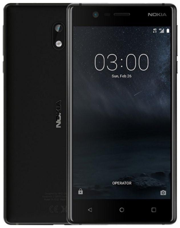Смартфон NOKIA N3 Dual SIM (матово чорний) TA-1032