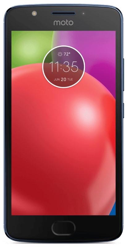 Смартфон MOTOROLA Moto E (XT1762) Dual Sim (синій)