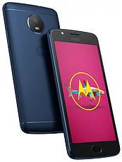 Смартфон MOTOROLA Moto E (XT1762) Dual Sim (синій), фото 3