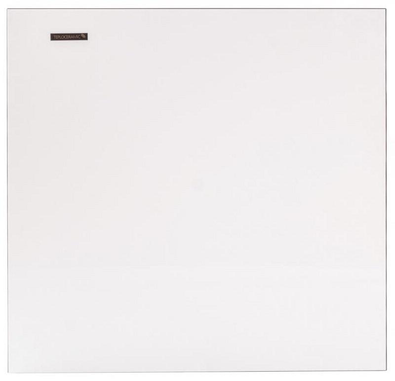 Обігрівач керамічна панель Теплокерамік TC 370 Білий