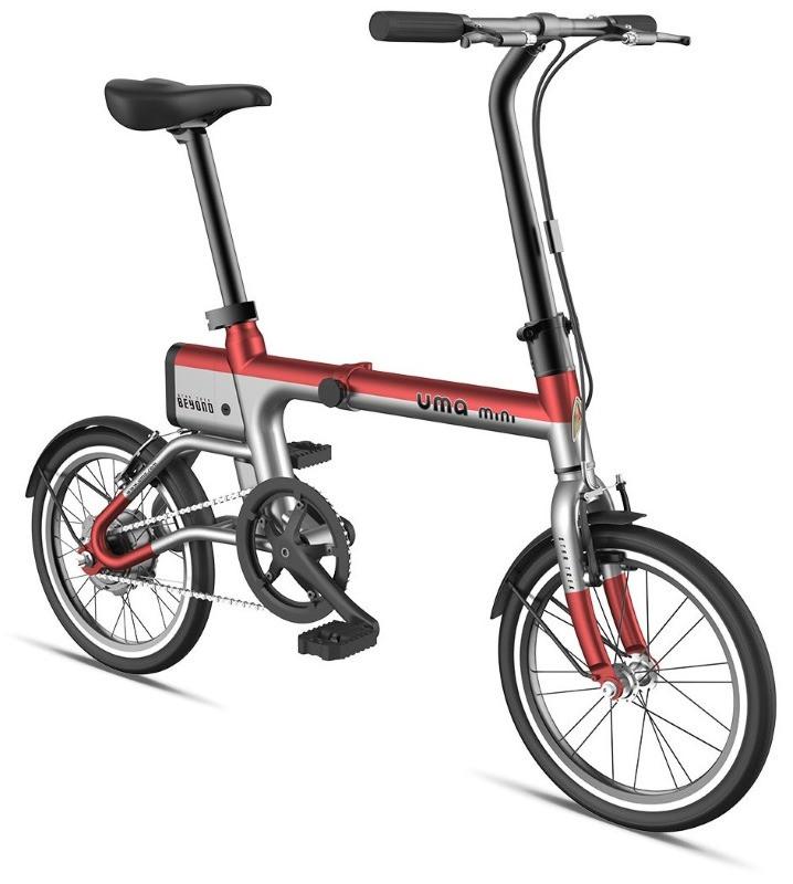 Електровелосипед Xiaomi UMA MINI Сіро-червоний