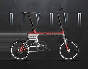 Електровелосипед Xiaomi UMA MINI Сіро-червоний, фото 3