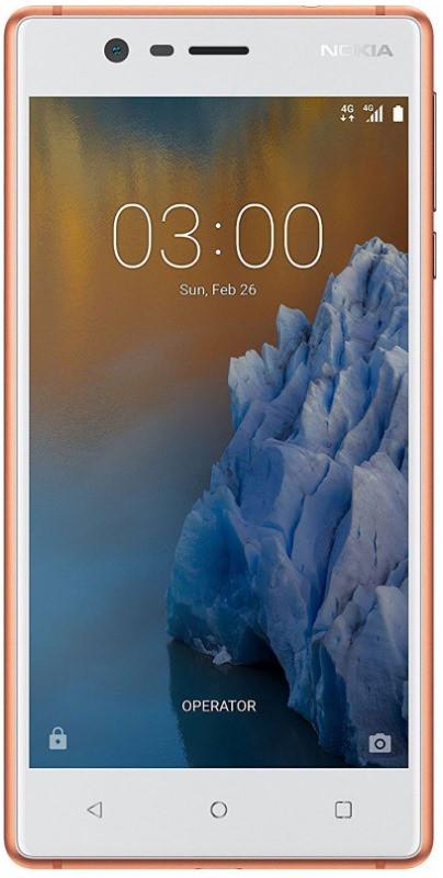 Смартфон NOKIA N3 Dual SIM (білий з міддю) TA-1032