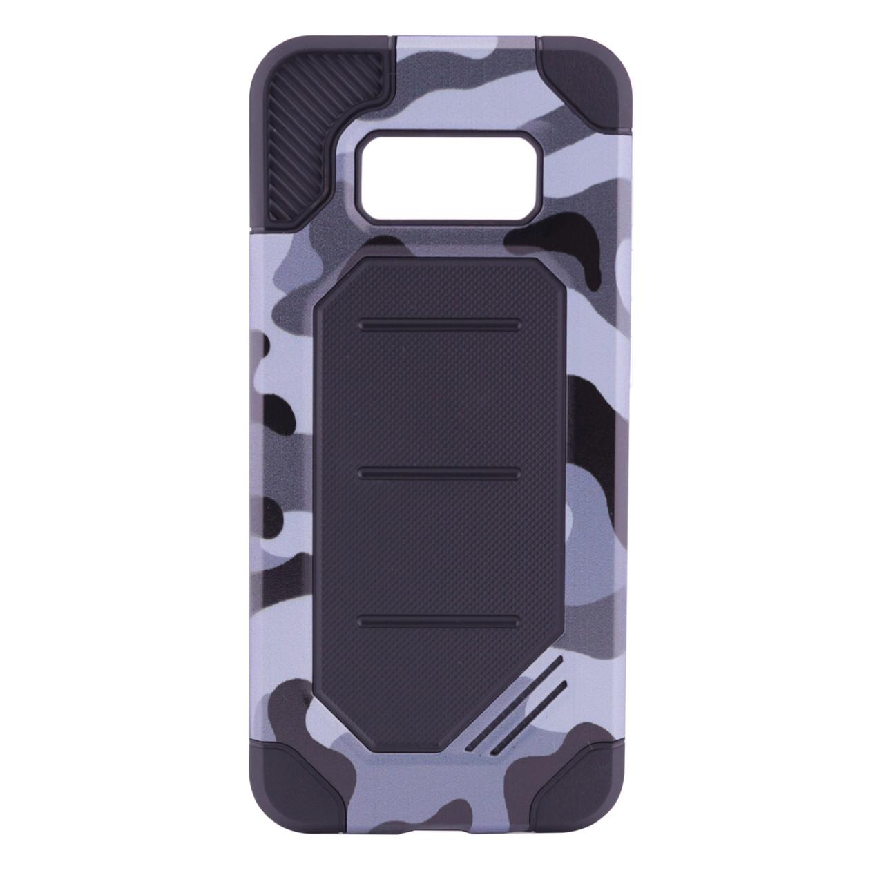 Чохол-накладка Motomo для Samsung G950 S8 Military ser. Камуфляж Сірий
