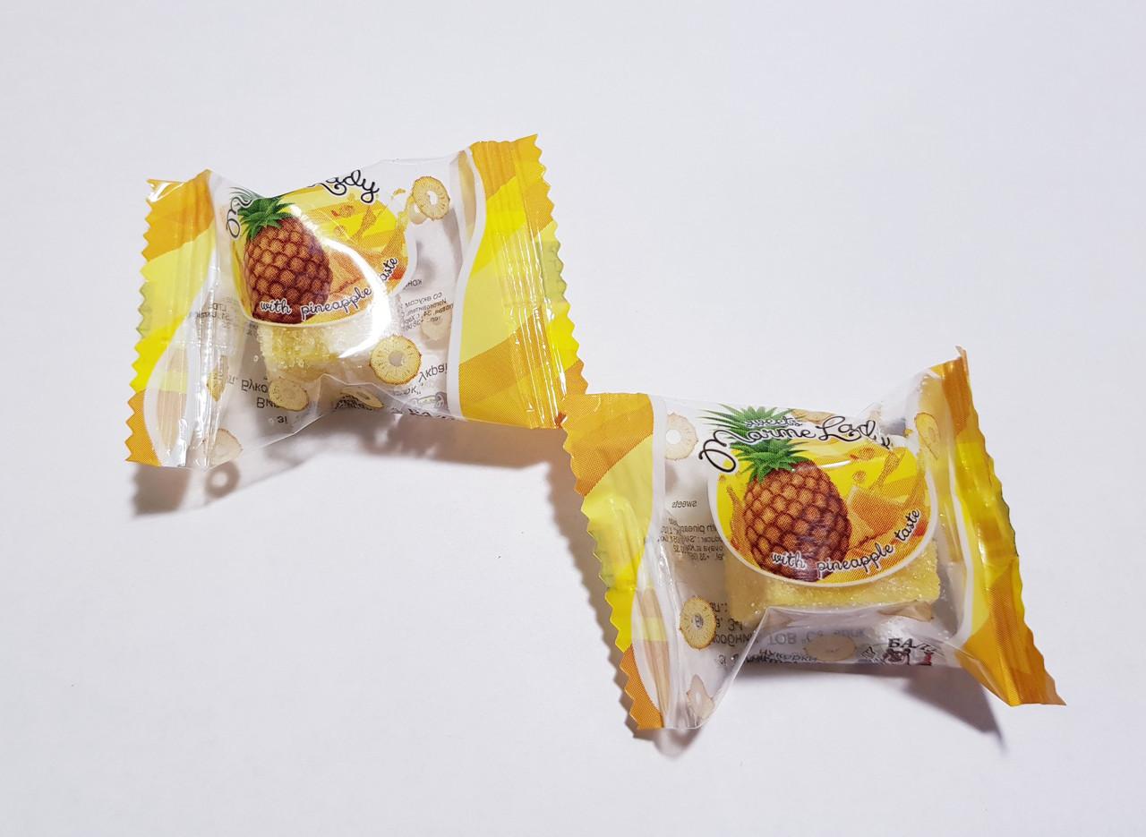 Конфеты Марми леди со вкусом ананаса ТМ Балу 1,5 кг.