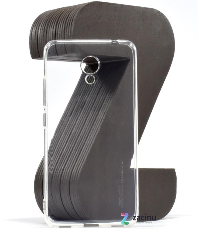 Чохол-накладка SMTT для Meizu M5c Ultra ser. Прозорий/безколірний