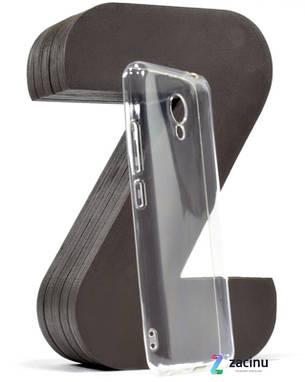Чохол-накладка SMTT для Meizu M5c Ultra ser. Прозорий/безколірний, фото 2