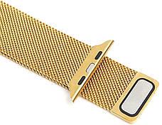 Ремешок для Apple iWatch 38mm Milanese Loop Band ser. Golden (993664), фото 2