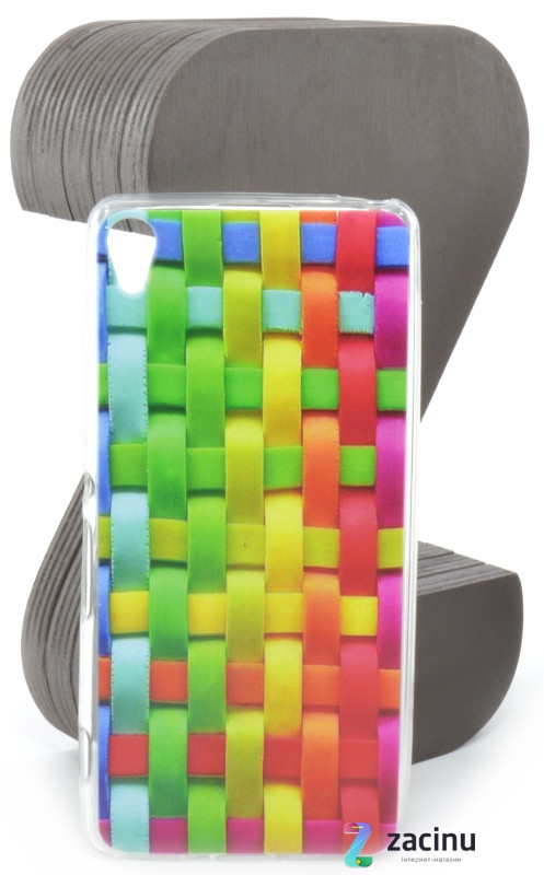 Чохол-накладка Rucover для Sony Xperia XA / XA Dual TPU Кольорове плетіння