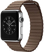 Ремешок для Apple iWatch 38mm Leather Loop Band ser. Brown (993572)