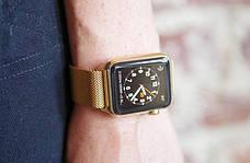 Ремінець для Apple iWatch 38mm Milanese Loop Band ser. Golden(993664), фото 2