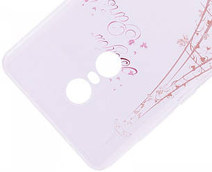 Чохол-накладка для Xiaomi Redmi Note 4X Cute Print ser. Sweet Paris Прозорий/безколірний, фото 2