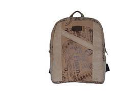 Рюкзак замшевый с надписями